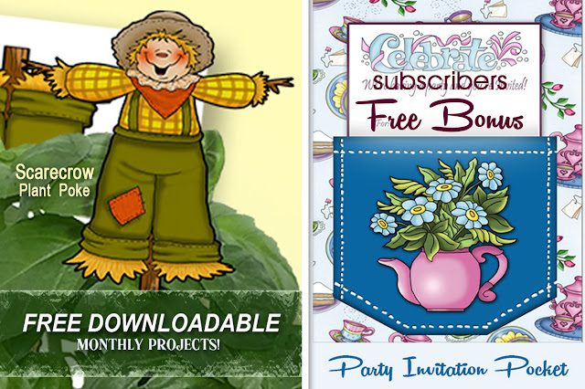 Get your FREE monthly project downloads from Annie Lang because Annie Things Possible when you DIY