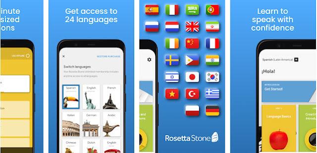 تطبيق Rosetta Stone
