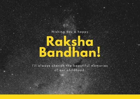 raksha bandhan wishes for elder brother