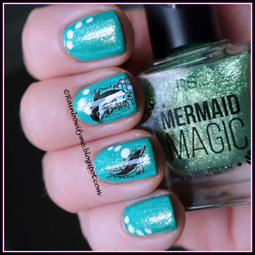 PS Mermaid Magic ~ Seafoam