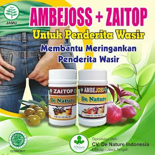 Obat ambeyen ampuh bahan herbal alami