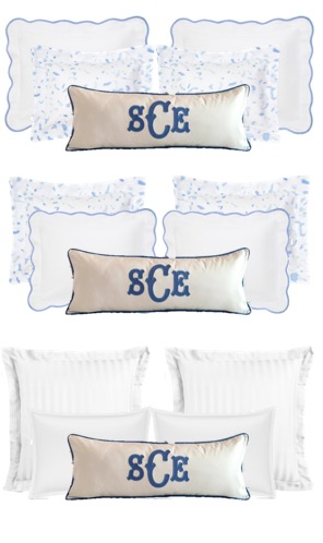 Pillow Combinations for Bedroom
