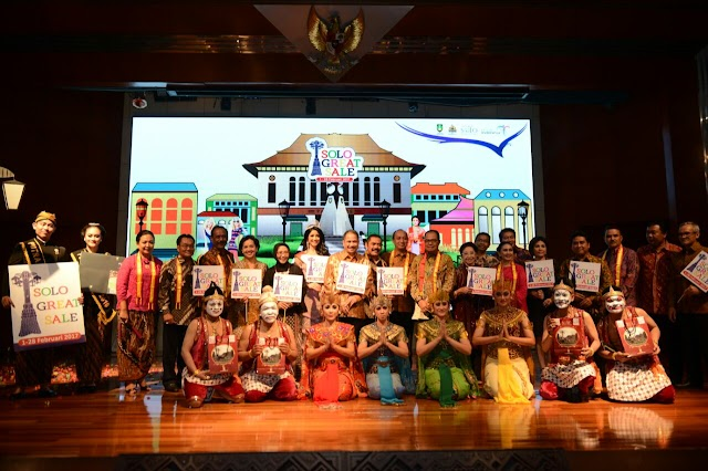 Menpar Arief Yahya Launching Solo Great Sale & Calendar Event Solo 2017 di Balairung
