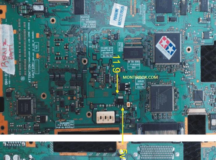 Test Point Kipas PS2 Mati Seri 50XXX GH-026