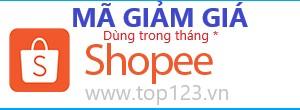 Mã giảm giá Shoppe, Giảm giá khuyến mãi Shopee 15K đến 45% của Shoppee cho tháng 12/2018