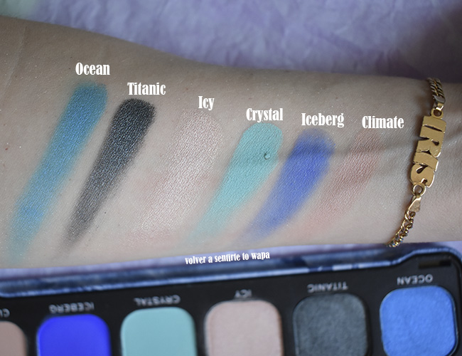 Paleta Flawless On Ice de Makeup Revolution