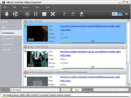 Download Xilisoft YouTube Video Converter 5.6.6.20160701 Portable