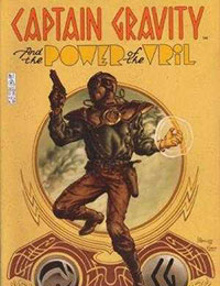 Captain Gravity And The Power Of Vril Comic