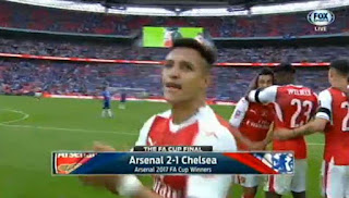 Arsenal Juara Piala FA, Kalahkan Chelsea 2-1