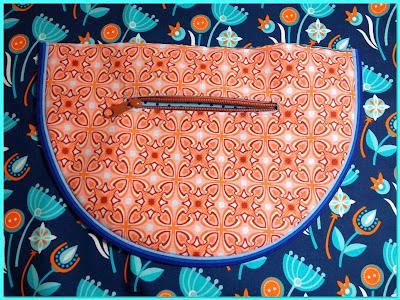 Schnabelina Bag - die ersten Nähte