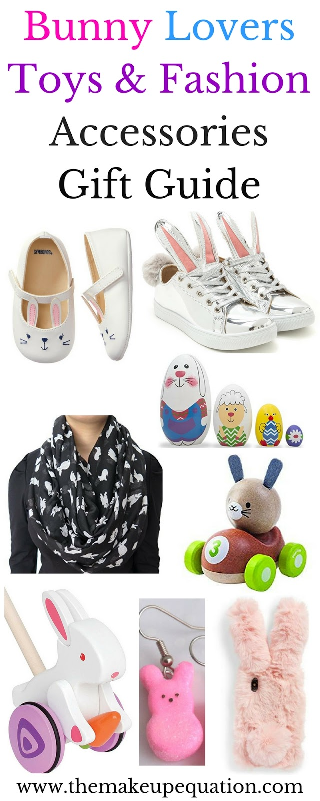 Bunny toys and fashion accessories easter gift guide the makeup bunny toys and gifts for bunny lovers bunny bunnytoys easter easterfashion negle Gallery