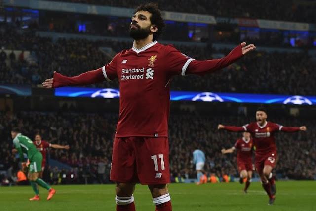 Salah Bisa Samai Rekor Gol Ronaldo Jika Mencetak 2 gol Lagi