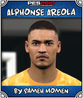 PES 2017 Faces Alphonse Areola by Sameh Momen