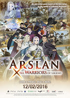 Arslan The Warriors of Legend (PC) 2016