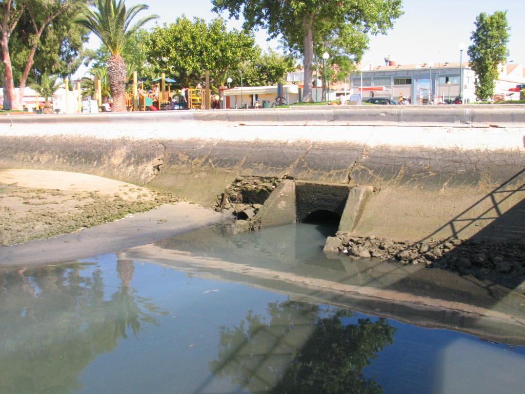 Resultado de imagem para fotos da poluiçao em Olhão