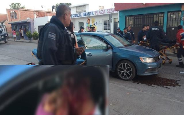 VIDEO.- Fue un cobarde atentado de Sicarios contra un custodio y su hijo quien murió en el ataque en San Luis Potosí
