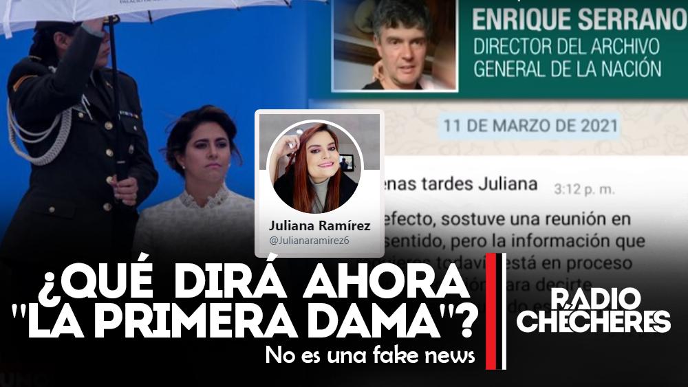 """Periodista @Julianaramirez6, comprobó que """"Primera Dama"""" María Juliana Ruiz mintió sobre el libro"""