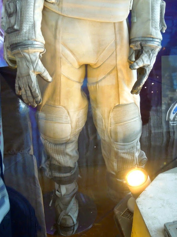 Interstellar NASA spacesuit legs detail