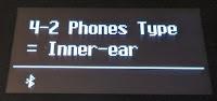 ES520 Headphones type - inner ear