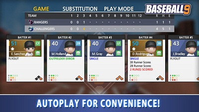 Download BASEBALL NINE android