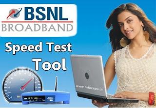 How to Check Bsnl BroadBand internet Speed