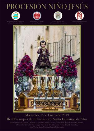 Procesión del Niño Jesús de la Compañía 2019 en Córdoba