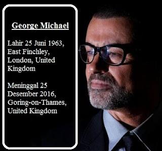 George Michael, Tutup Usia Di Hari Natal Tahun 2016 pada Usia 53 Tahun.