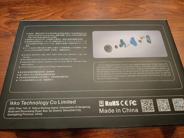 ikko OH1S 高解析單鐵單動圈 入耳式監聽耳機,MMCX可換線耳機 - 3