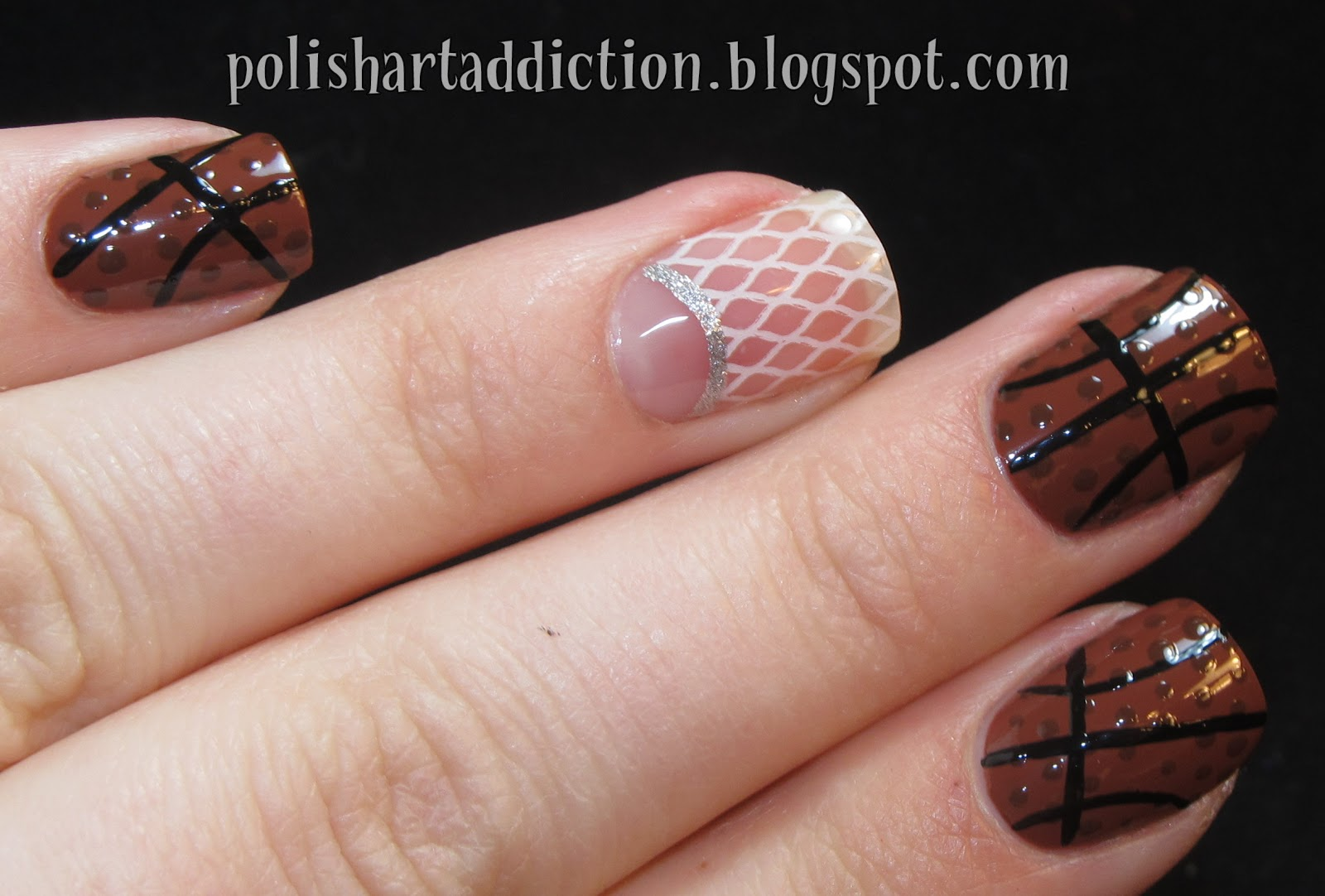 Basketball Nail Designs | www.pixshark.com - Images ...
