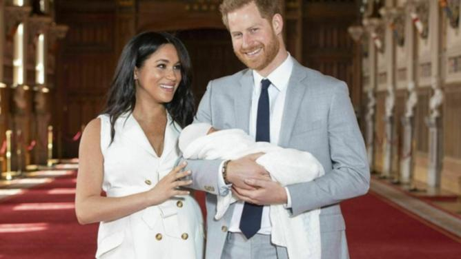 """The Duchess of Sussex has given birth to her second child: a baby girl named Lilibet """"Lili ..."""