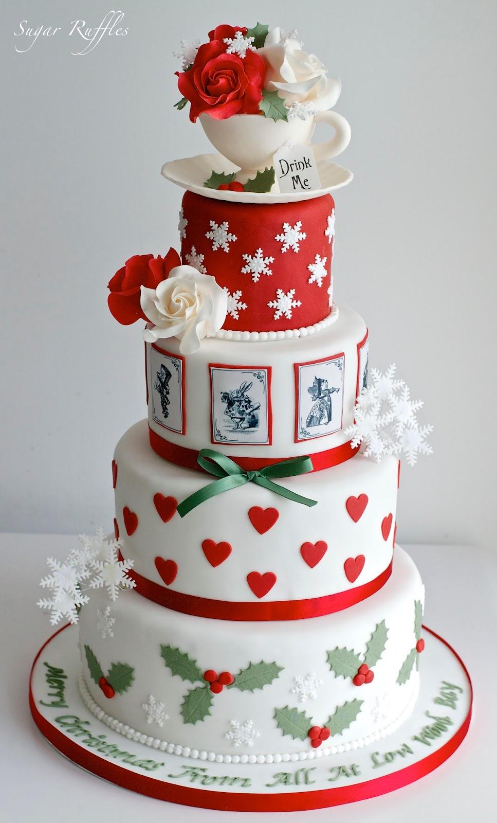 Low Wood Bay Christmas Cake 2016