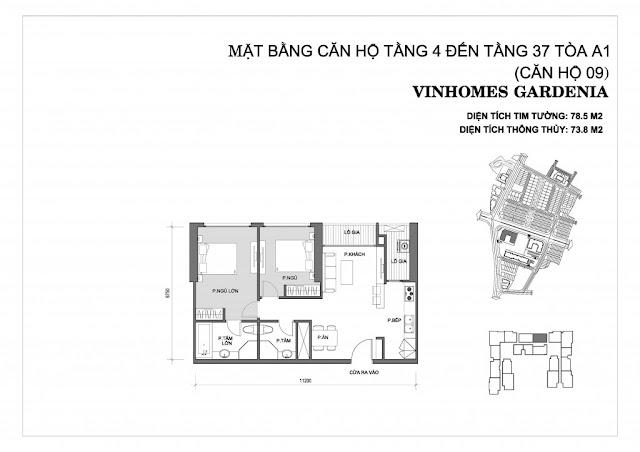 09 - Tòa A1 Vinhomes Gardenia