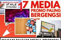 Macam Macam Media Promosi : 17 Macam & Ulasannya
