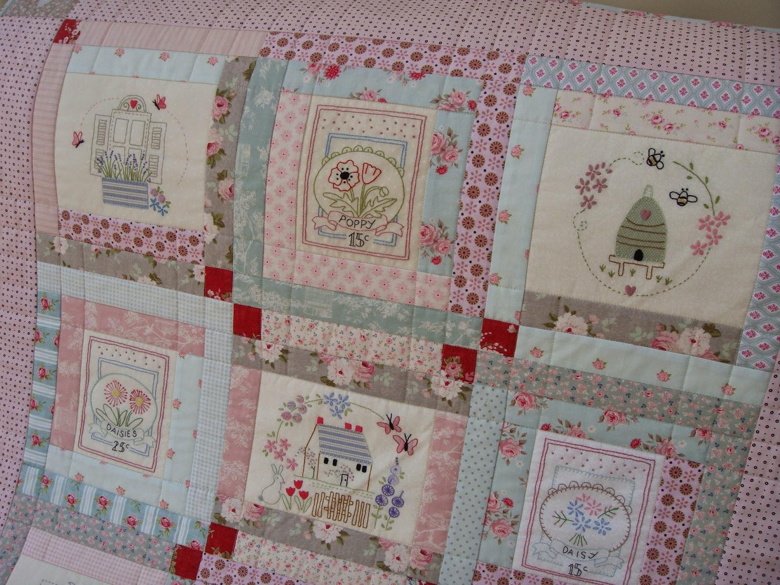 Patchwork Allsorts: Le Jardin Quilt - Completed! : le jardin quilt pattern - Adamdwight.com