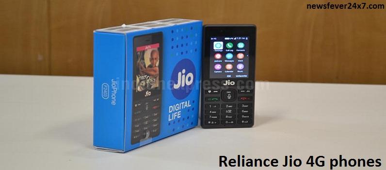 Reliance Jio 4G phones