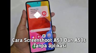 cara screenshot a51