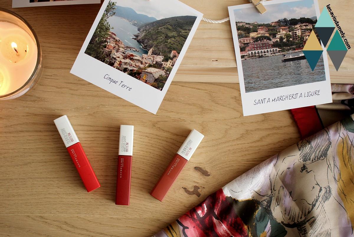 avis et test encre à lèvres longue tenue rouge Maybelline Superstay
