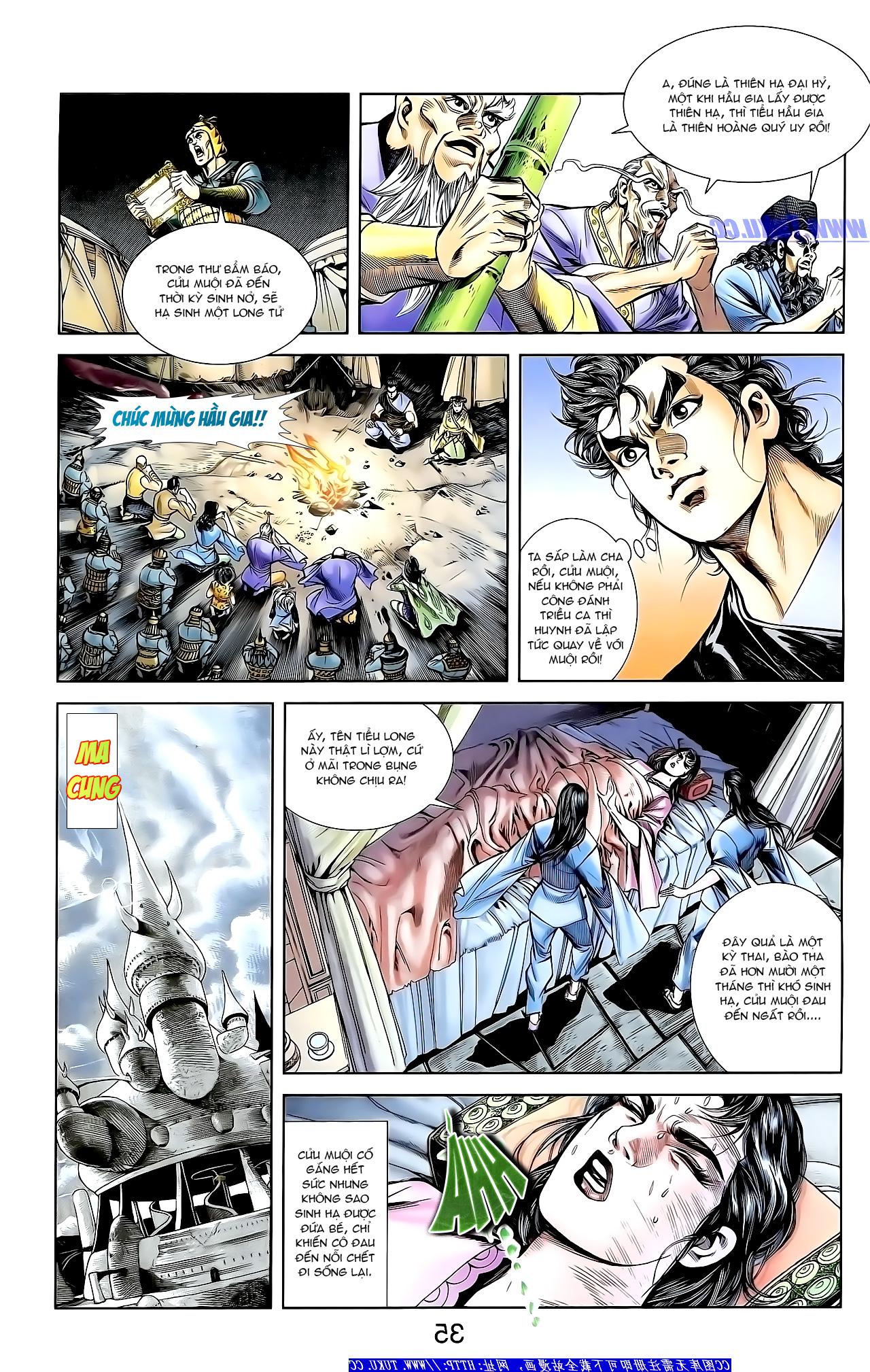 Cơ Phát Khai Chu Bản chapter 159 trang 21