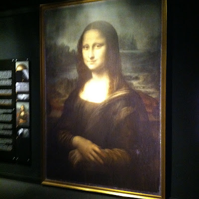 Da Vinci's Mona Lisa - large Scale Copy