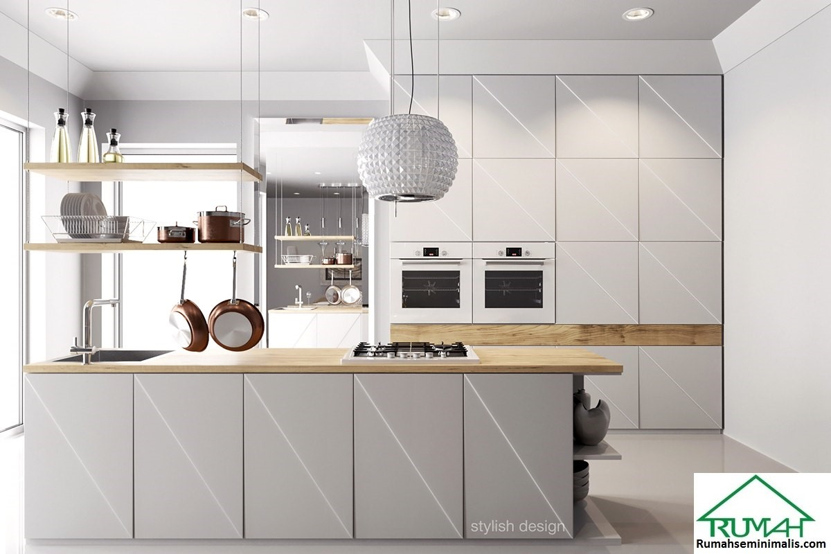 merupakan area yang mungkin sering Anda abaikan ketika memulai membangun rumah 25 Kumpulan Denah Model Desain Gambar Dapur Minimalis Warna Cat Putih