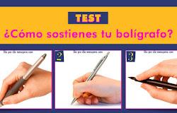 Test: Conoce el secreto de tu personalidad por la forma en que sostienes tu bolígrafo