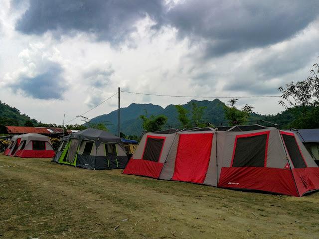 tent, balay ni tatay farm resort babatngon leyte