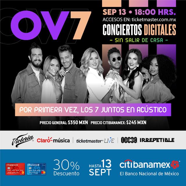 La banda OV7 festejará sus 30 años de trayectoria con un convierto virtual Irrepetible