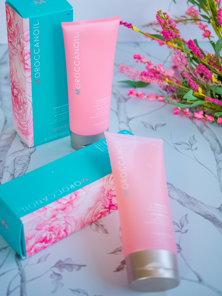 4b18d35e5c590 Moroccanoil Body Buff   Moroccanoil Hand Cream  The Fleur de Rose  collection also includes these two products but I haven t had a chance to try  them.
