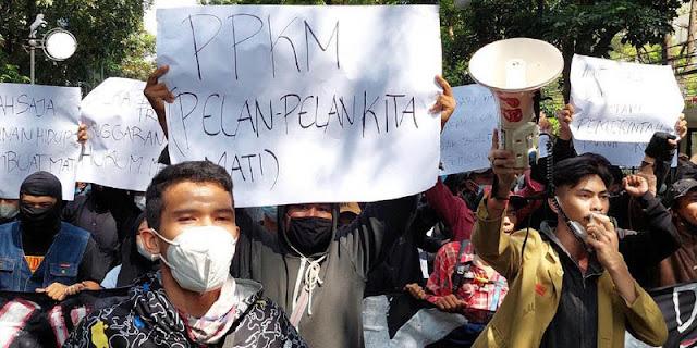 Kesbangpol: Massa Aksi Tolak PPKM Mayoritas Bukan Warga Kota Bandung