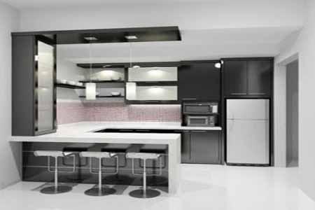 Kitchen Set Minimalis Modern Melengkapi Fungsi Di Dapur Kecil