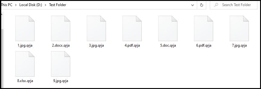 .qrja file virus