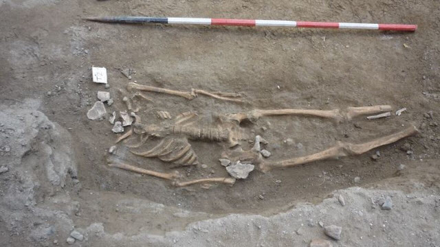 Part of 2nd century BC necropolis unearthed at building site in Sicily's Messina