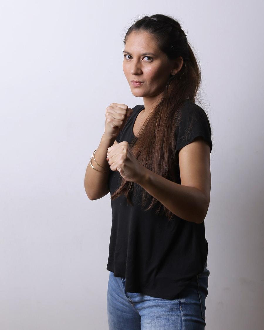 Hannah Al Rasyid atlet seksi dan kece