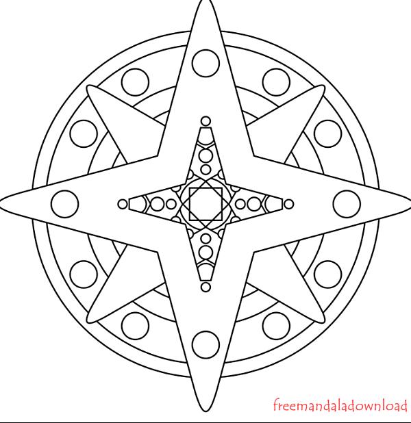 Sonne Mandala Ausmalen Free Mandala